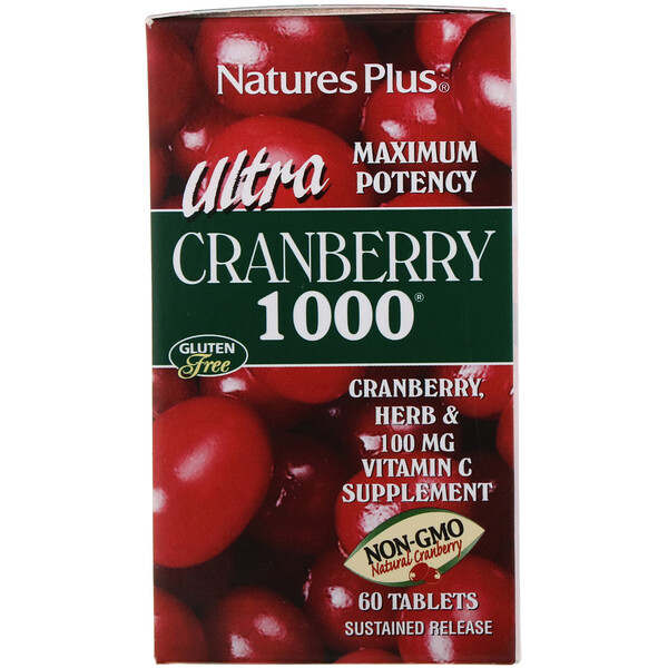 Ultra Cranberry 1000, 60 таблеток