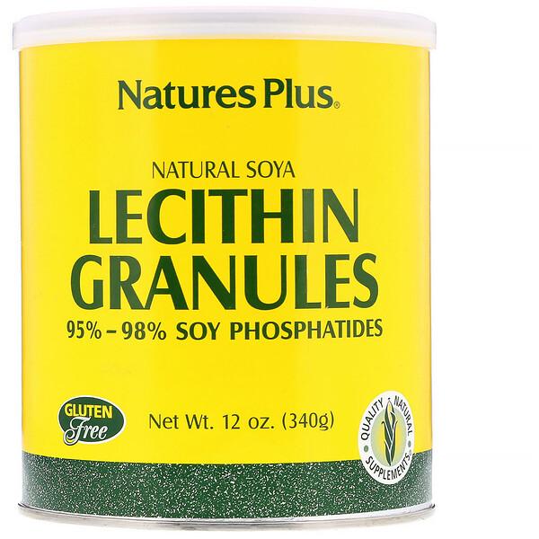 Гранулы лецитина, натуральная соя 12 унции (340 г)