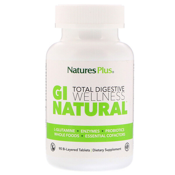 Total Digestive Wellness, GI Natural, 90 Bi-Layered Tablets