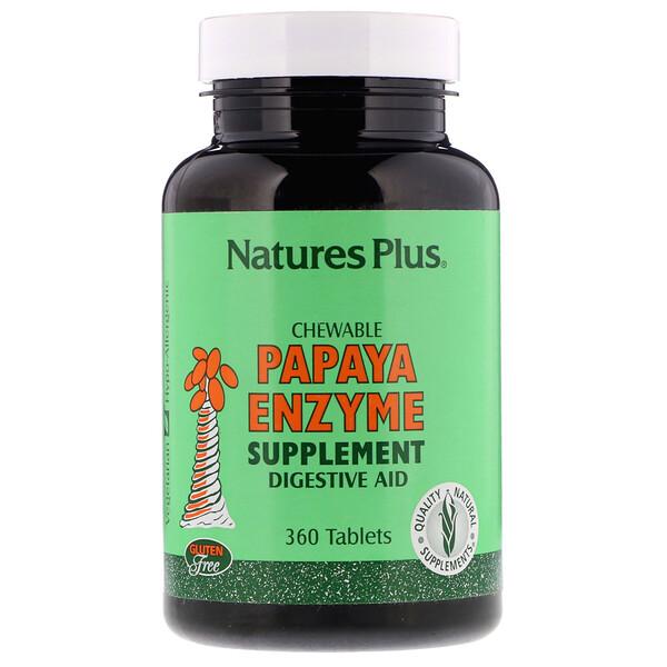 Жевательная добавка с ферментами папайи, 360 таблеток