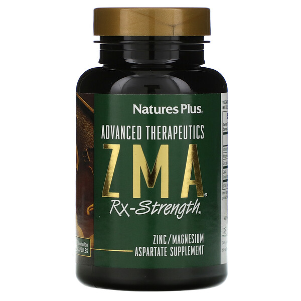 Advanced Therapeutics, ZMA Rx-Strength, 90 Vegetarian Capsules