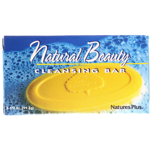 Nature's Plus, Очищающее мыло «Природная красота», 99,2г