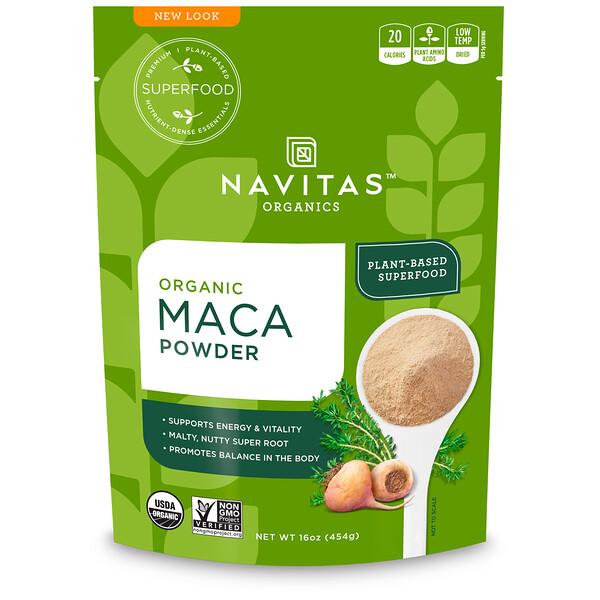 Navitas Organics, Органический порошок маки, 454г
