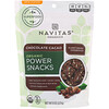 Navitas Organics, Power Snacks, Chocolate Cacao, 8 oz (227 g)