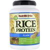 NutriBiotic, Сырой простой рисовый белок, 1 фунт 5 унций (600 г)