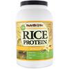 NutriBiotic, Необработанный рисовый протеин, ваниль, 1,36кг (3фунта)