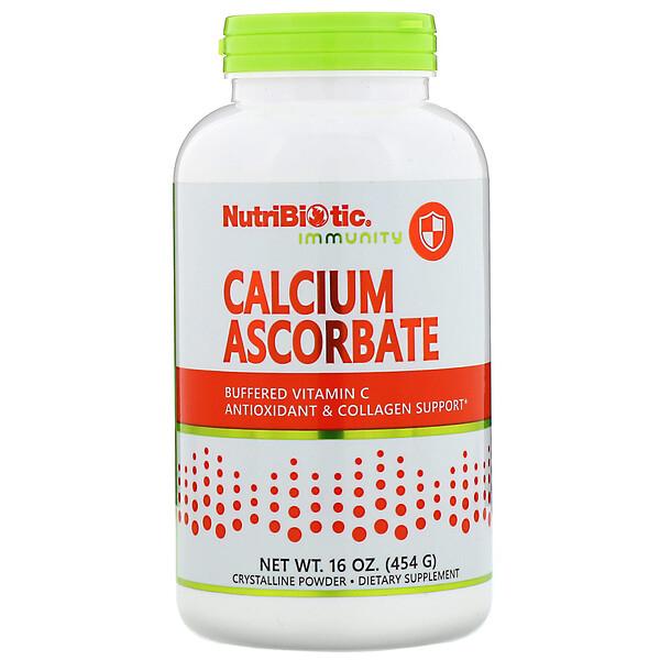 Immunity, Calcium Ascorbate, Crystalline Powder, 16 oz (454 g)