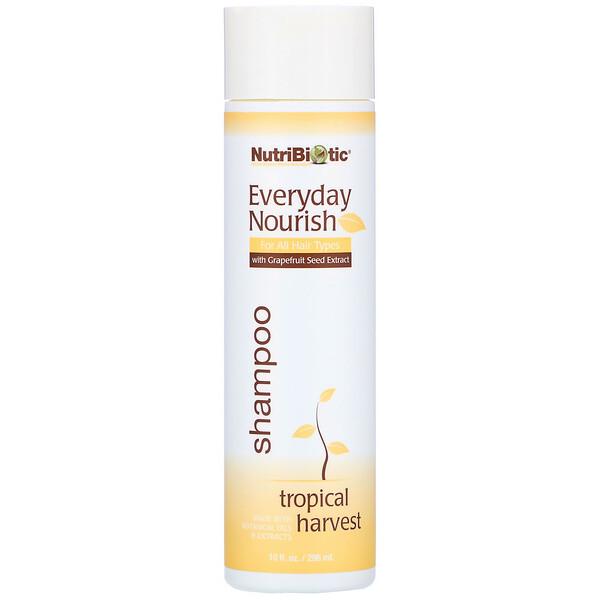 Everyday Nourish Shampoo, Tropical Harvest, 10 fl oz. (296 ml)