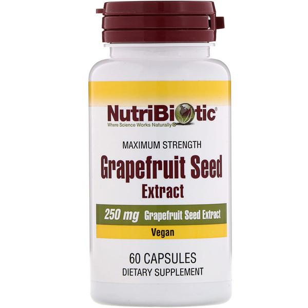 экстракт семян грейпфрута, 250 мг, 60 капсул
