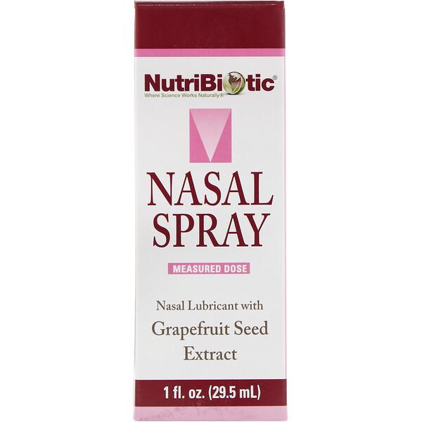 NutriBiotic, Nasal Spray, 1 fl oz (29.5 ml)