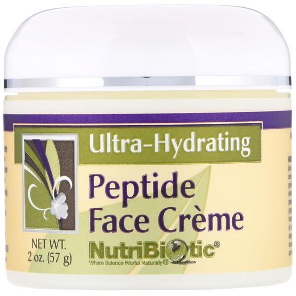Ультраувлажняющий крем для лица с пептидами, 2 унции (57 г)