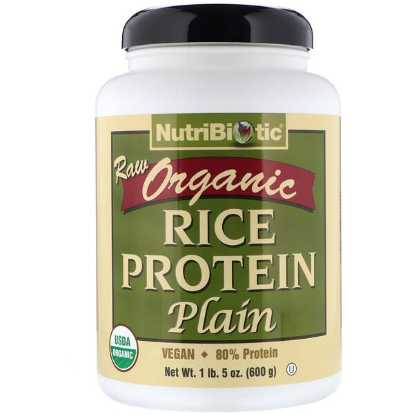Сырой органический рисовый белок, 600 г