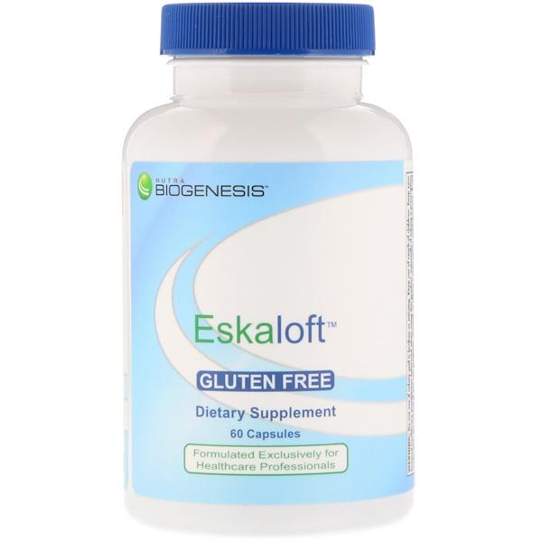 Nutra BioGenesis, Eskaloft, Gluten Free, 60 Capsules (Discontinued Item)