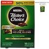 Nescafé, Тэйстерс Чойс, Растворимый Кофе, Декаф Хаус Бленд, 16 пакетиков, 0.1 унций (3 гр) каждый