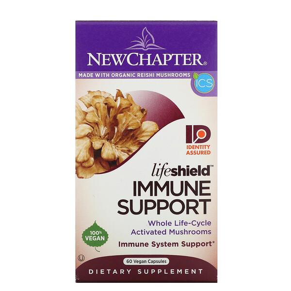 Lifeshield, Immune Support, 60 Vegan Capsules