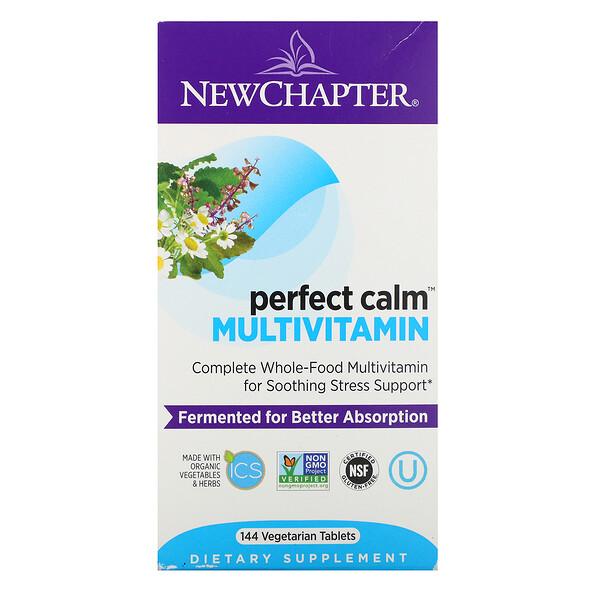 Perfect Calm Multivitamin, 144 Vegetarian Tablets