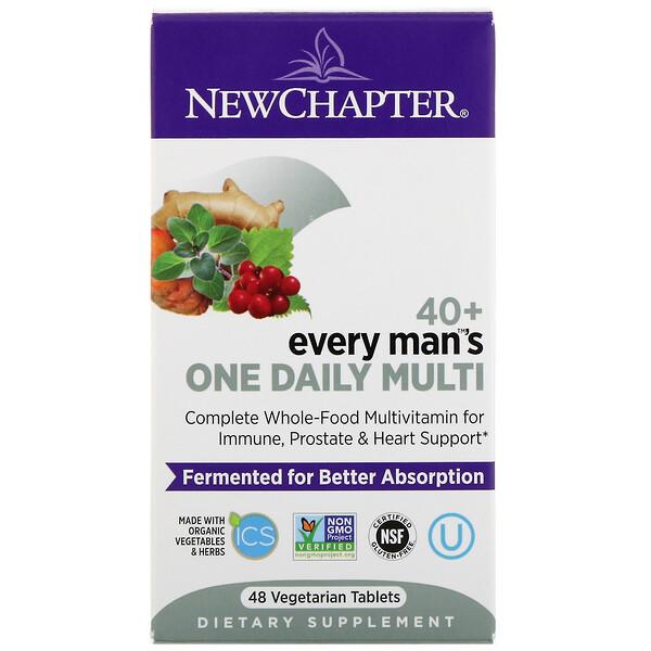 40+ Every Man's One Daily Multi, 48вегетарианских таблеток