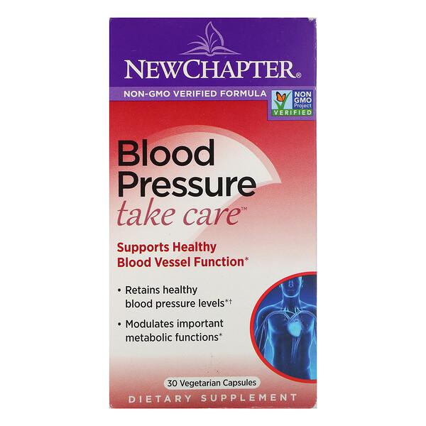 Blood Pressure, Take Care, 30 Vegetarian Capsules