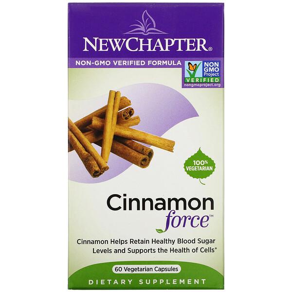 Cinnamon Force, 60 Vegetarian Capsules