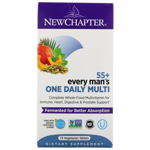 Every Man's One Daily Multi, мультивитамины для мужчин старше 55лет, 72вегетарианские таблетки