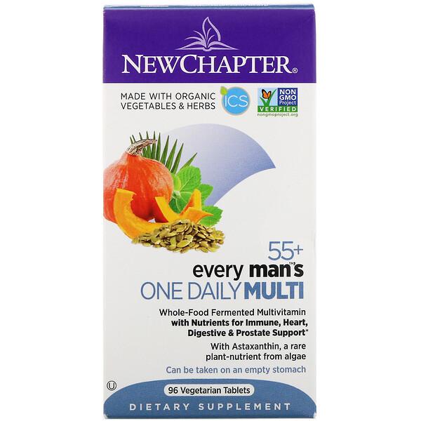 55+ Every Man's One Daily Multi, 96вегетарианских таблеток