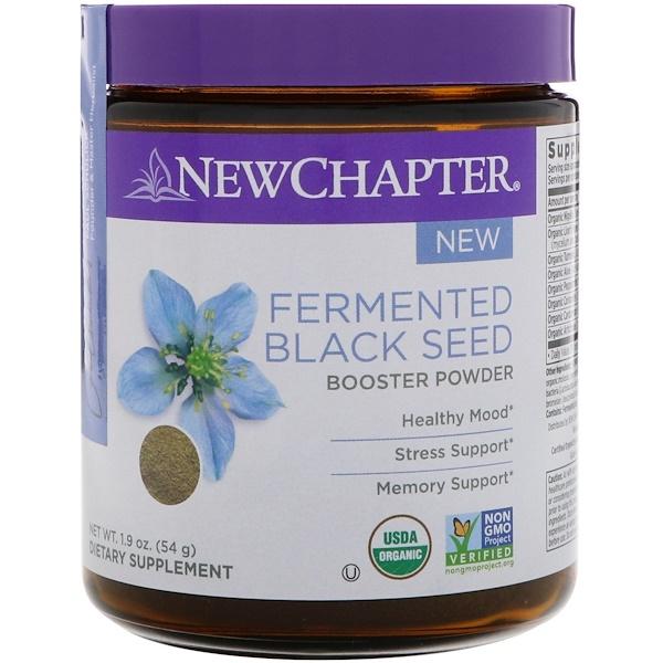 New Chapter, Порошок из ферментированного черного тмина, 54 г (1,9 унции) (Discontinued Item)