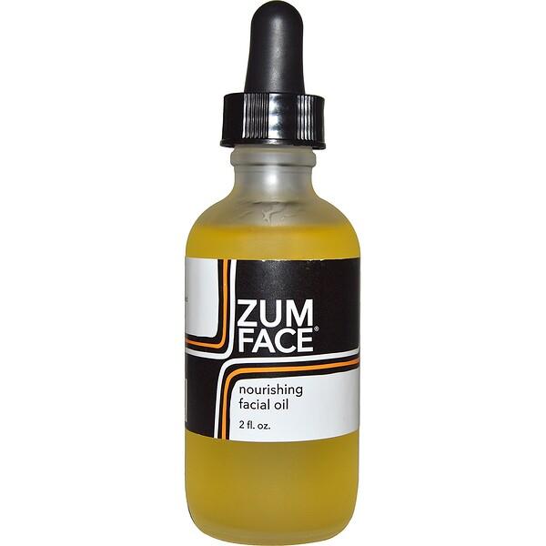 Zum Face, Питательное масло для лица, 2 унции