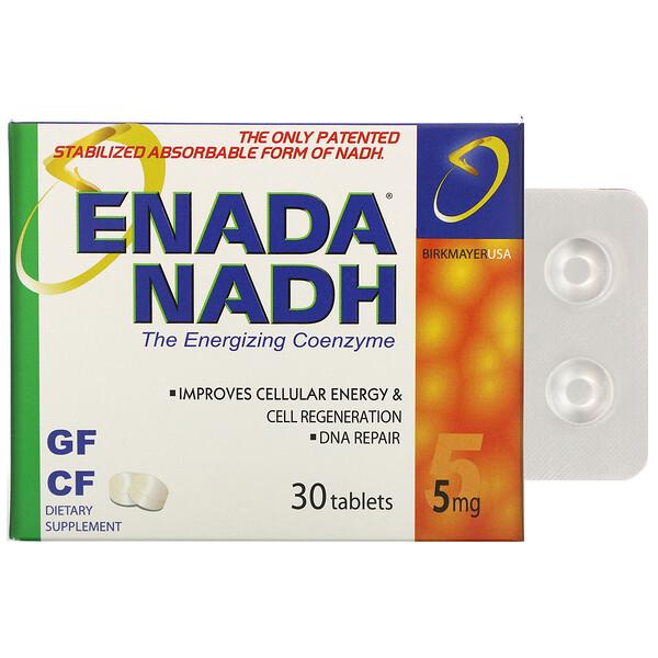 NADH 5x, 5 mg, 30 Tablets