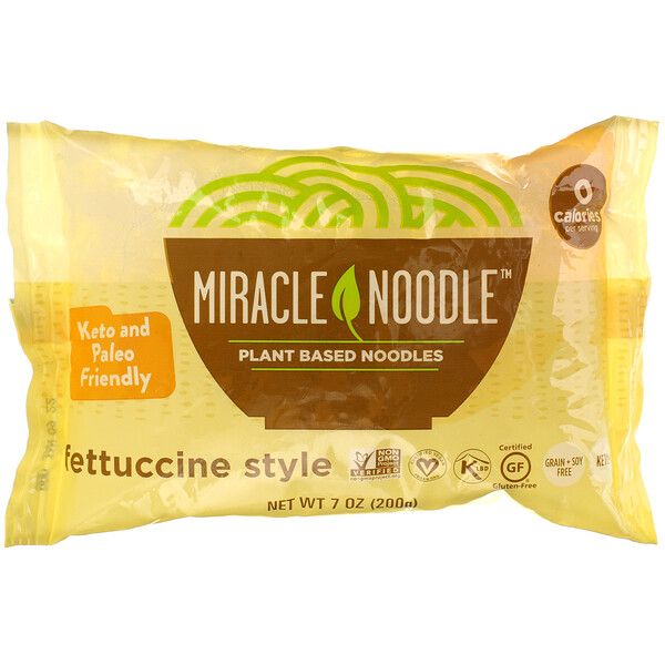 Miracle Noodle, Fettuccine Style, 7 oz (200 g)