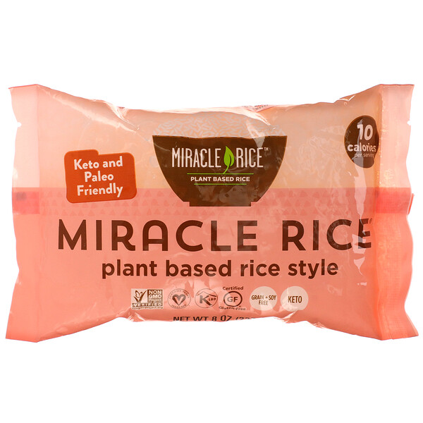 Miracle Noodle, Miracle Rice, 227 г (8 унций)