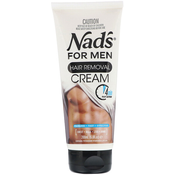 Hair Removal Cream, For Men, 6.8 fl oz (200 ml)