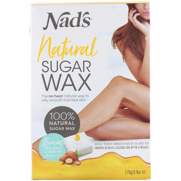 Natural Sugar Wax, 6 oz (170 g)