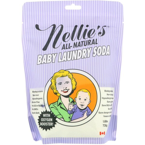 All-Natural, cода для детского белья, 1,6 фунта (726 г)