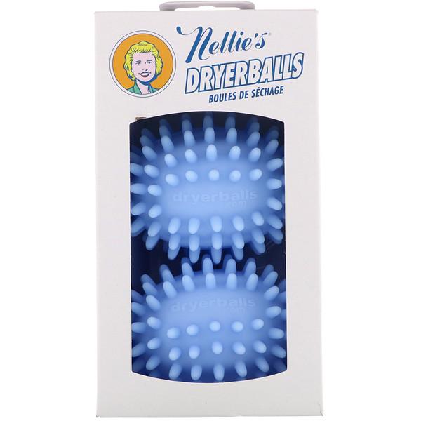 Nellie's, Мячики для стирки DRYER BALLS 2шт. (Discontinued Item)