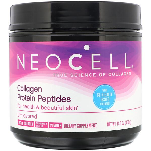 Neocell, Пептиды из коллагенового протеина, с нейтральным вкусом, 406г (14,3 унции)