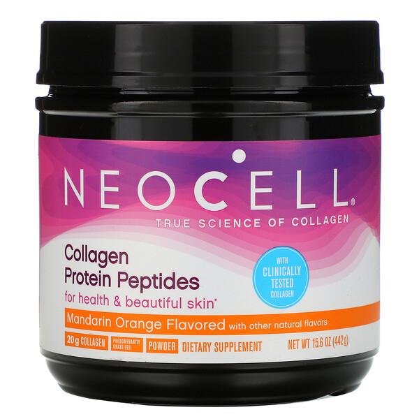 Neocell, Пептиды из коллагенового белка, мандарин и апельсин, 442г