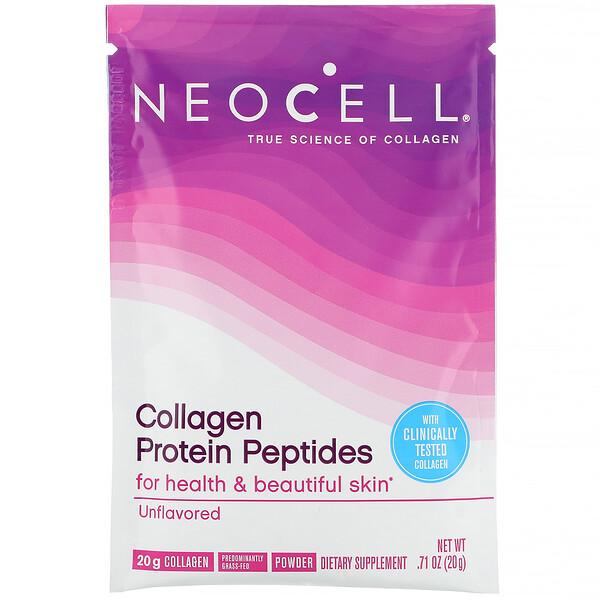 Neocell, Пептиды из коллагенового белка, без вкусовых добавок, 20г (0,71унции) (Discontinued Item)
