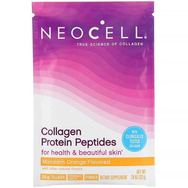 Neocell, Пептиды из коллагенового белка, мандарин и апельсин, 22г (0,78унции) (Discontinued Item)
