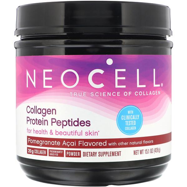 Neocell, Пептиды из коллагенового белка, гранат и асаи, 428г