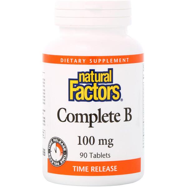 Витамины «Все B», 100 мг, 90 таблеток