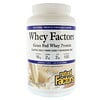 Natural Factors, Whey Factors, Grass Fed Whey Protein, Natural French Vanilla Flavor, 2 lbs (907 g)