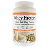 Natural Factors, Whey Factors, сывороточный белок молока коров травяного откорма, без ароматизаторов, 907 г (2 фунта)