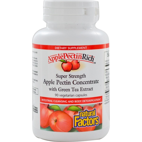 Apple Pectin Concentrate, Super Strength , 90 Vegetarian Capsules