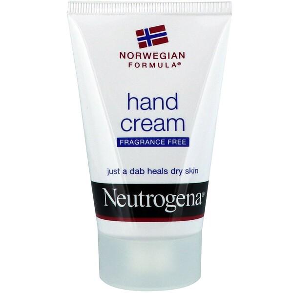 Neutrogena, Крема для рук, без запаха, 56г (2унции)