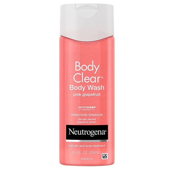Body Clear, Гель для душа, Розовый грейпфрут, 8,5 унции (250 мл)