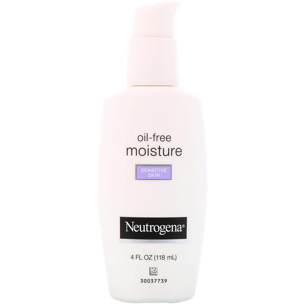 Neutrogena, Безмасляный ультрамягкий увлажняющий крем для лица, для чувствительной кожи, 4 ж. унц. (118 мл)
