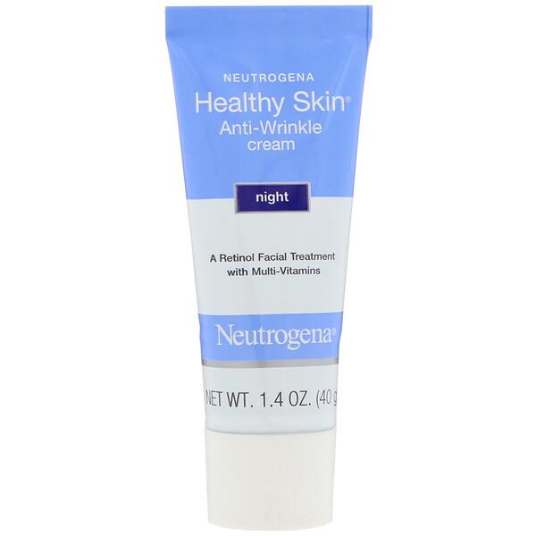 Healthy Skin, крем против морщин, ночной, 1,4 унц. (40 г)