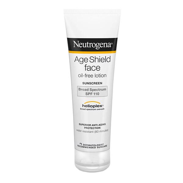 Age Shield для лица, солнцезащитный крем без масла, SPF 110, 3 жидкие унции (88 мл)