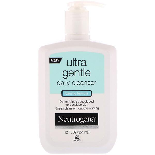 Ультрамягкое средство для ежедневной чистки лица, пенящееся, 12 ж. унц. (354 мл)