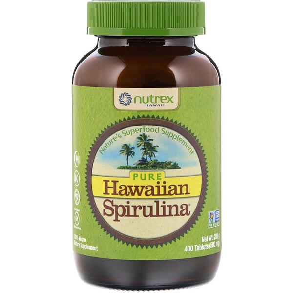 Pure Hawaiian Spirulina, 500мг, 400таблеток